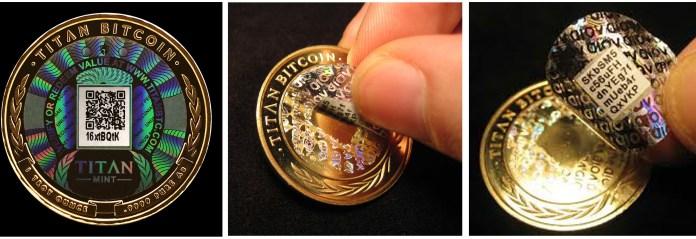 Gerçek Fiziksel Bitcoin