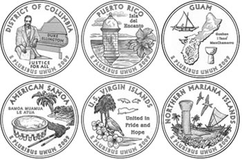 2009 Quarter Design Images for District of Columbia and US ...