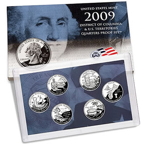 2009 DC and US Territories Quarters Proof Sets on Sale at ...