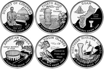 2009 Quarter Images for DC and US Territories | Coin News