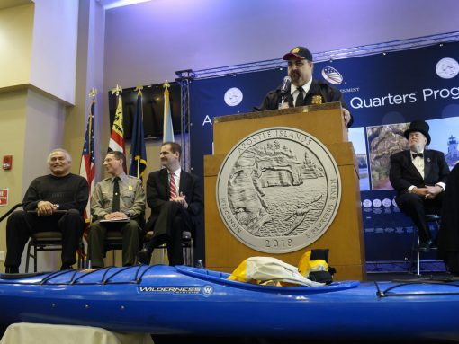 Apostle Islands Quarter Launch Ceremony Highlights   Coin News