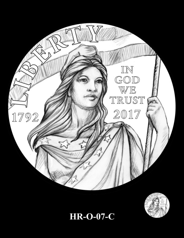 2019 American Liberty Gold Coin and Silver Medal Design ...