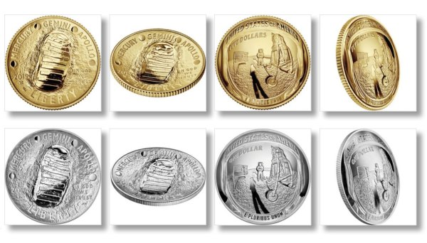 2019 Apollo 11 50th Anniversary Commemorative Coin Images ...