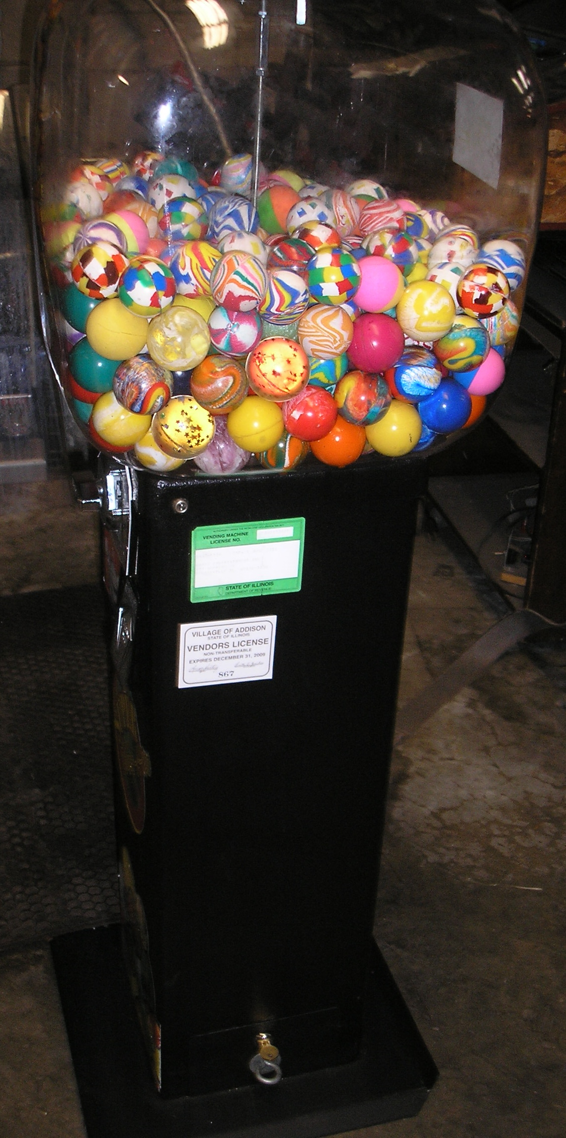 Super Bounce A Roo Merchandiser Arcade Machine Game For
