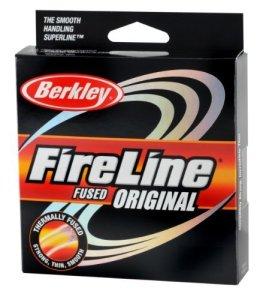Berkley Fireline Fused Original Superline 1500 Yd spool(8/3-Pound,Flame Green) by Berkley