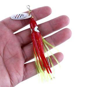 HATCHMATIC 8g Pêche Metal Hengjia Lure Pêche Artificielle Tackle oon Douce l'eau Douce