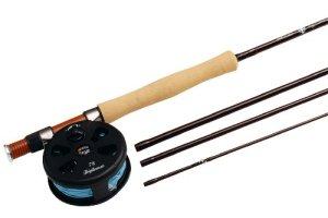 Abu Garcia Combo Diplomat 904 #7/8 LH FLY Canne à pêche pour pêche à la mouche et moulinet 270 cm