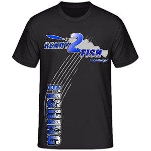 Angel Berger Sea ready2Fish T-shirt Cabillaud Angel