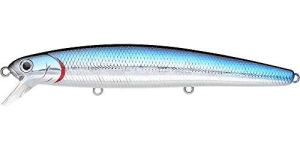 Lucky Craft Leurre de Pêche CIF Flash Minnow 110 California Inshore Pêche, 737 Salty Aurora Black, 4-1/2″