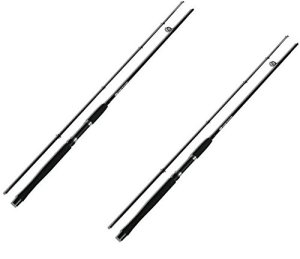 NGT Mixte à la Carpe Stalker traque furtive Rod (2pièces), Vert, 2,4m