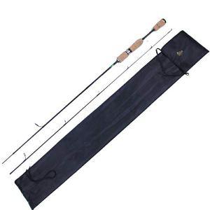 Canne à pêche Articles de pêche Tige Droite 1,8 M 2 Noeuds Ajustement UL Canne à pêche en Carbone Canne à pêche (Taille : Gun Handle)