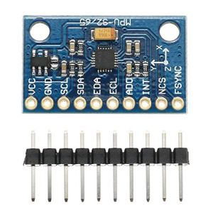 Harlls Gy-6500 Mpu6500 6dof Module de capteur gyroscopique d'accélération d'attitude à Six Axes et Six Axes d'une Conception extraordinairement Durable – Bleu
