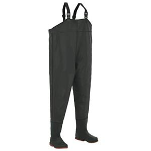 hualiyuyuan Pantalon échassier avec Bottes Vert Pointure 46