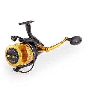 Penn Moulinet de pêche Rotatif de Noir, Mixte, 1259882, Noir, 10500
