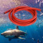 Keenso Tube de Chasse sous-Marine de Fronde, 3x16MM Bande de Caoutchouc de Fusil sous-Marine élingue de plongée sous-Marine Tube élastique en Latex(3M)