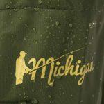 Michigan – Waders de pêche avec Ceinture – 100% Nylon/imperméable – Olive – EU 39,5