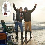 QIMEI-SHOP Leurres de Pêche Artificiels Appâts Réalistes Multi Articulé Swimbait Topwater avec Hameçon Mustad pour Carnassier Poisson Le Brochet Perche Truite 2PCS