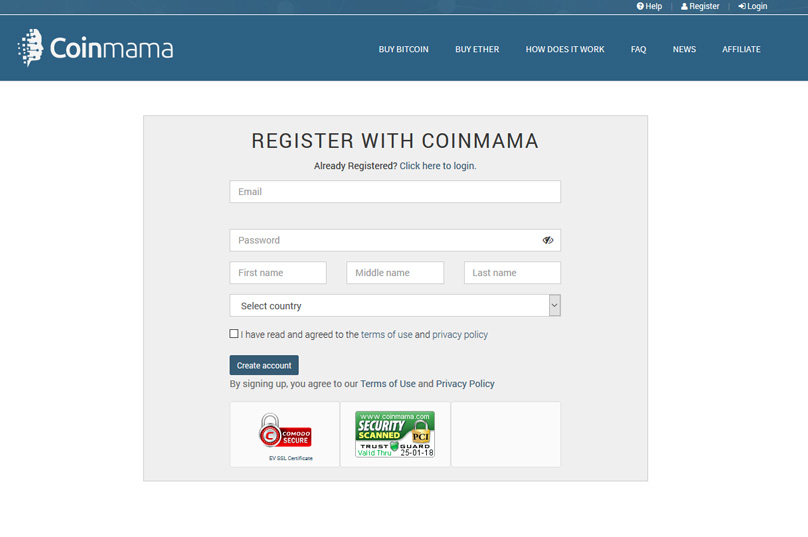 coinmama-registration