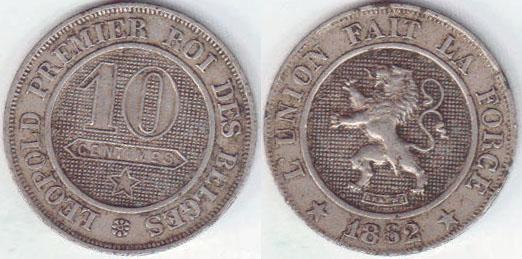 Afbeeldingsresultaat voor 10 centimes 1862