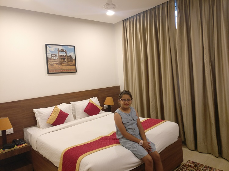 Our Room at Clarks Inn in Hampi