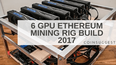 6 GPU Ethereum Mining Rig Build 2017