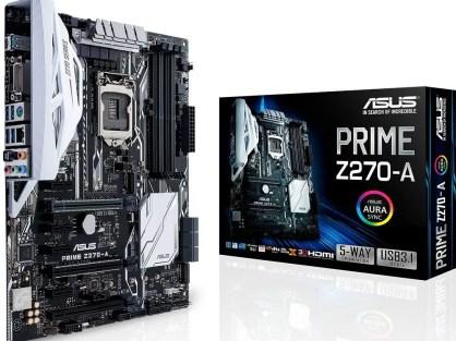 ASUS PRIME Z270-A LGA1151 DDR4