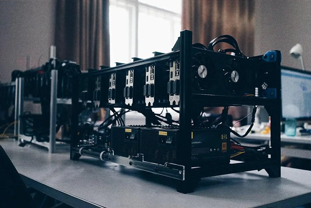 GPU Mining Frame