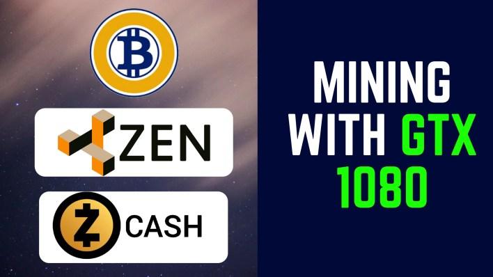 Coins To Mine GTX 1080