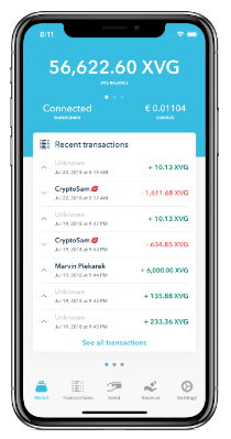 verge currency wallet