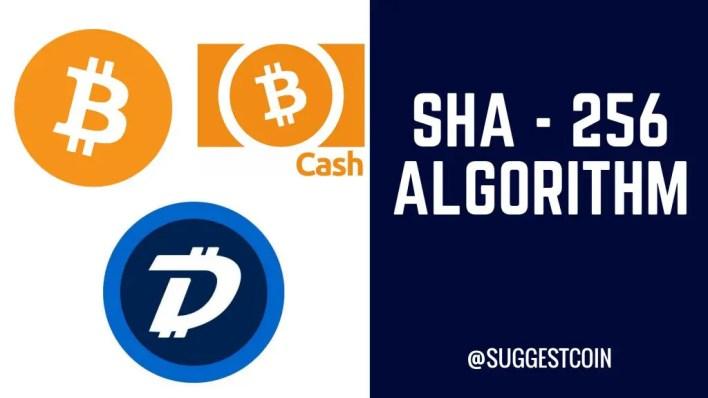 sha 256 coins