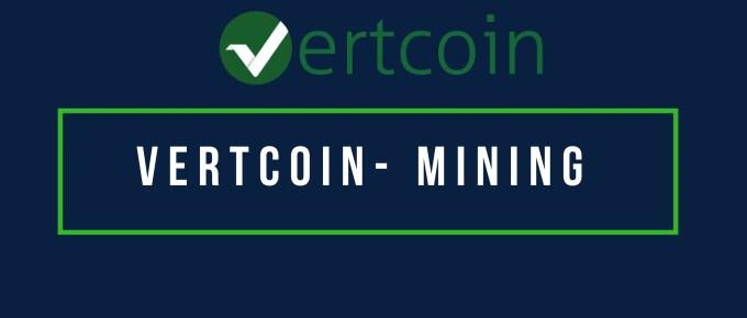 Vertcoin VTC Mining