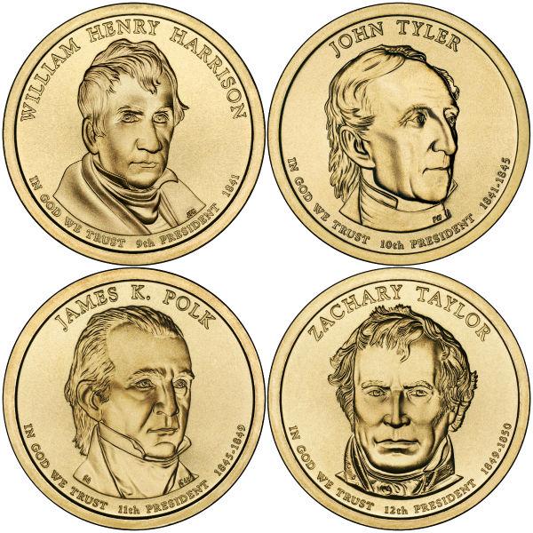 2009P $1 Presidential 4-Coin Set
