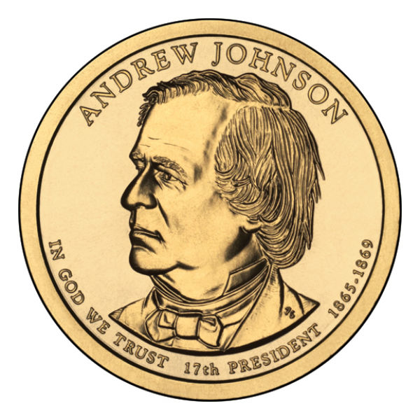 2011P $1 Johnson 25-Coin Roll
