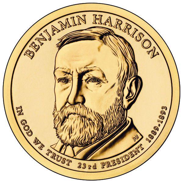 2012P $1 Harrison