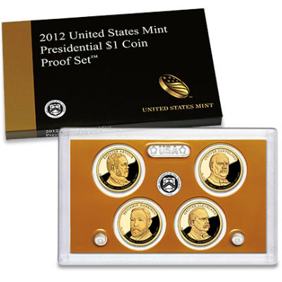 2012S 4-Piece Presidential Proof Set