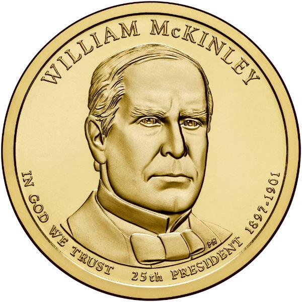 2013P $1 McKinley 25-Coin Roll