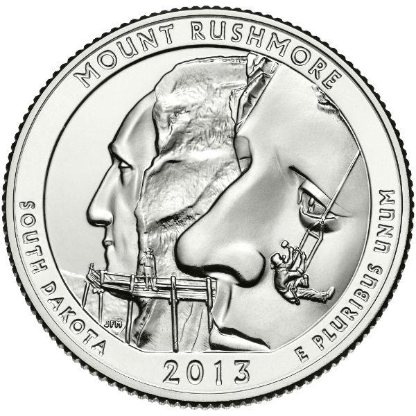 2013P Mount Rushmore National Memorial (South Dakota)