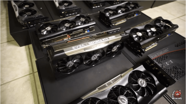 Mining Ethereum with RTX 3090