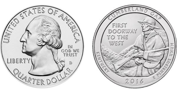 Cumberland Gap National Historical Park quarter | Coin World
