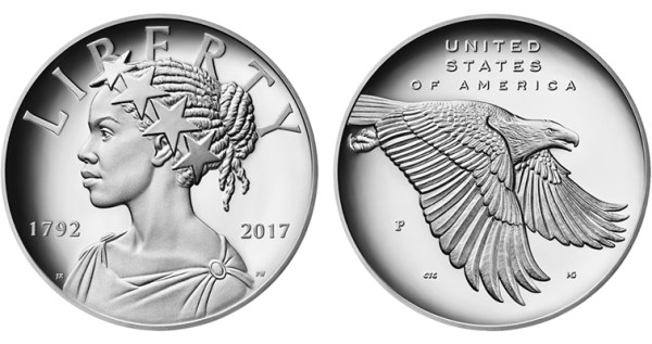 First 2017 American Liberty silver medal June 14 | Coin World
