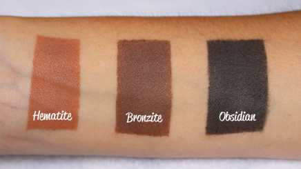 Kyshadow The Bronze Palette Kylie Cosmetics Swatches