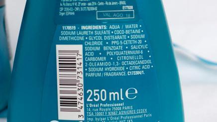 Shampoo ingredientes