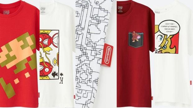 camisetas Nintendo