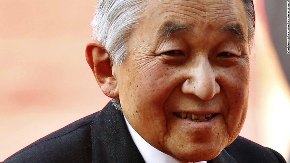 Imperador Akihito Japão