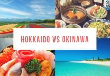 Hokkaido vs Okinawa