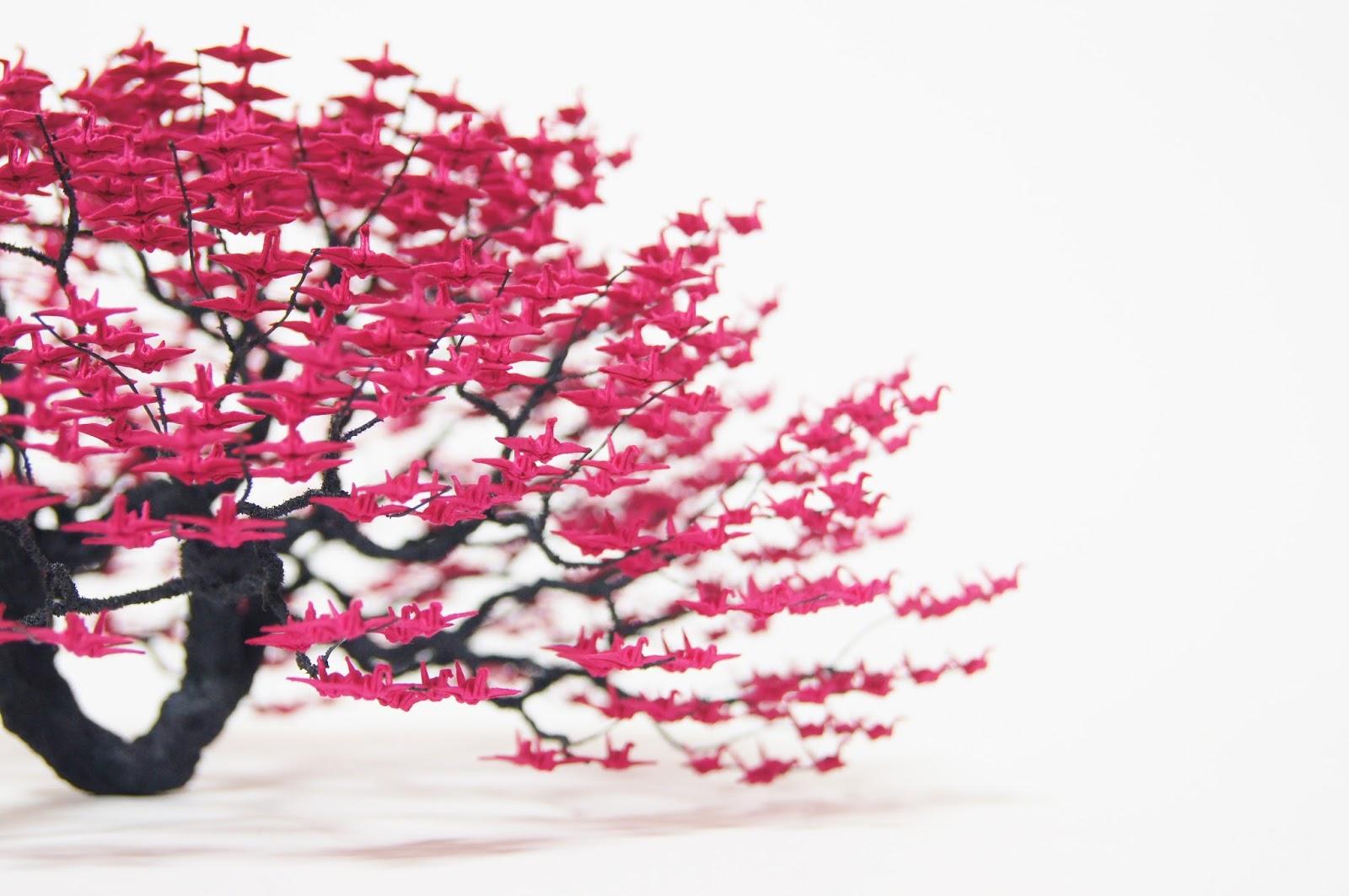 origami e bonsai