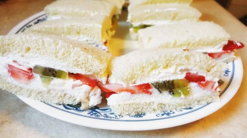 Sanduíche de frutas Japão