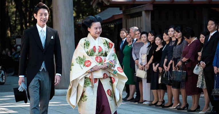 Casamento da princesa Ayako com Kei Moriya