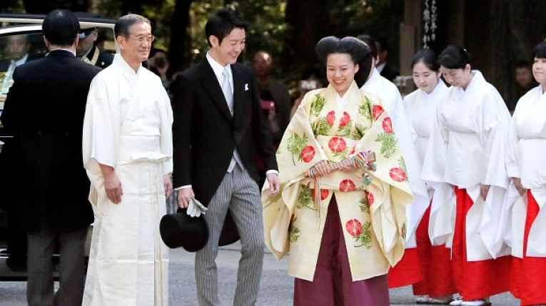 casamento princesa Ayako