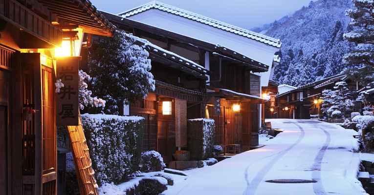 inverno no Japão